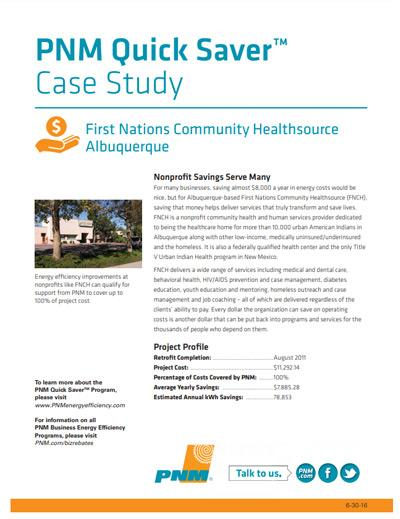 First Nations Case Study