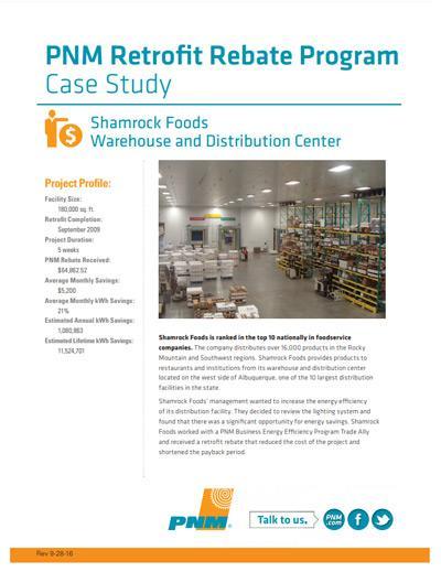Shamrock Foods Case Study
