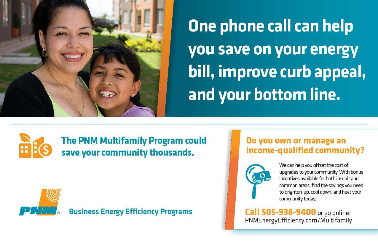 PNM Multifamily postcard front image