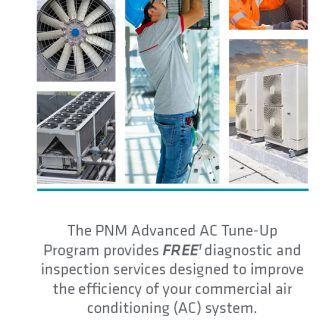 Cover image for AC Tune-up brochure