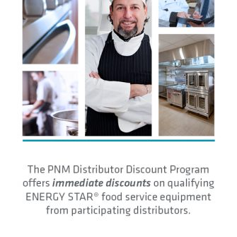 Distributor Discount for Food Service brochure cover image